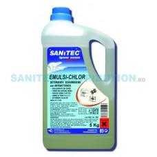 EMULSI-CHLOR detergent spumogen clor-activ antibacterian