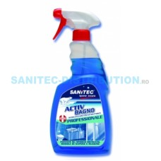 ACTIV BAIE detergent alcalin non acid sanificant bi-activ pentru curăţare zilnică 750ml